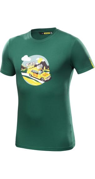Mavic SSC Yellow Car Miehet t-paita , petrooli